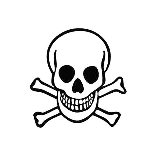 Skull Am S Decal