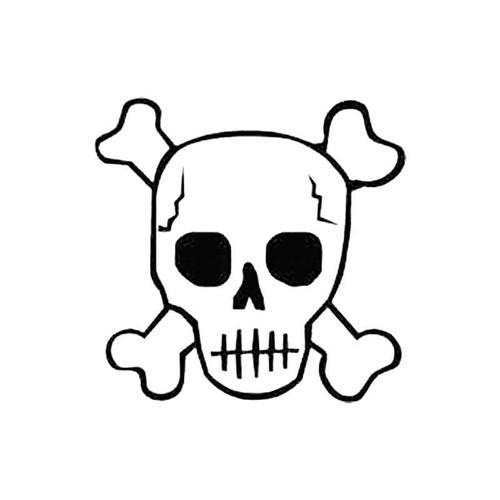 Skull Aq S Decal