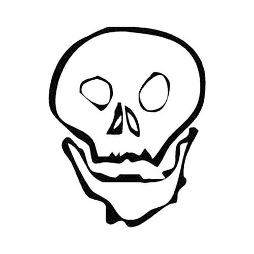 Skull At S Decal