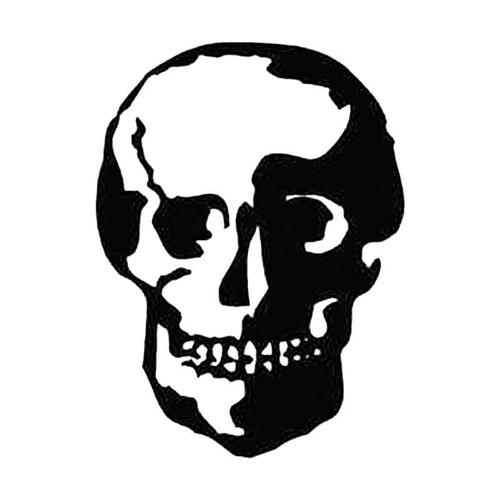 Skull Au S Decal