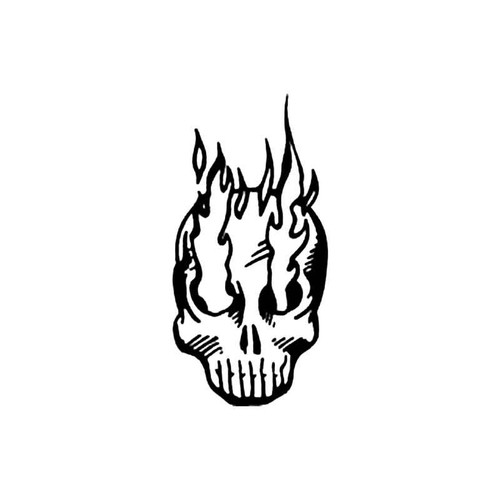 Skull Bh S Decal