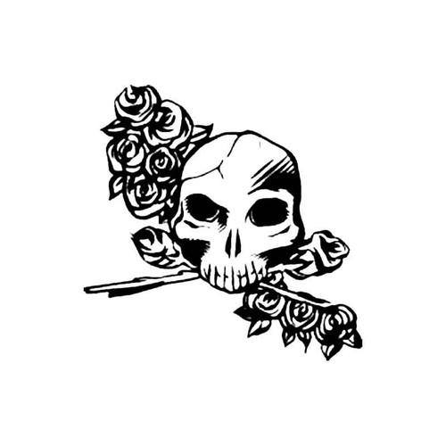 Skull Bo S Decal