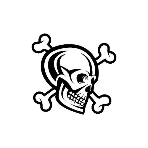 Skull Bones Decal
