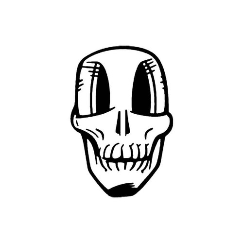 Skull Bp S Decal