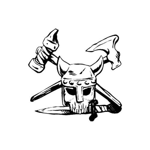 Skull Bv S Decal