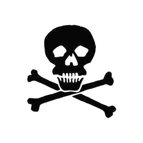 Skull D S Decal