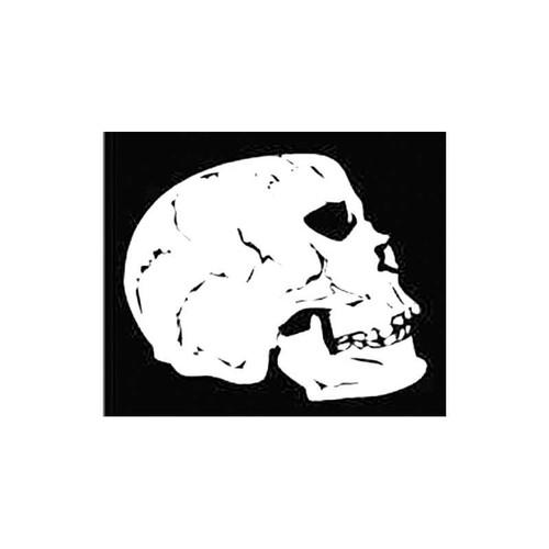 Skull I S Decal