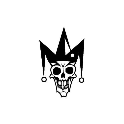 Skull Joker Decal