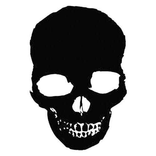 Skull M S Decal
