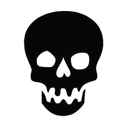 Skull R S Decal