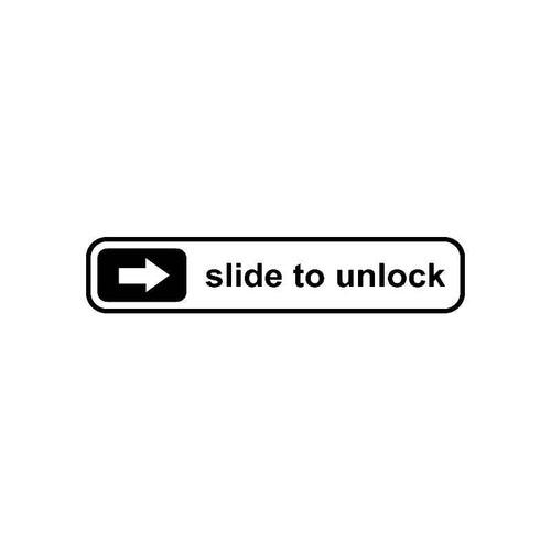 Slide To Unluck Jdm Jdm S Decal