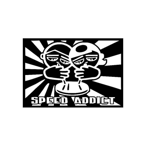 Speed Addict Jdm Jdm S Decal