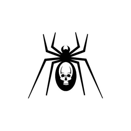 Spider Skull Decal