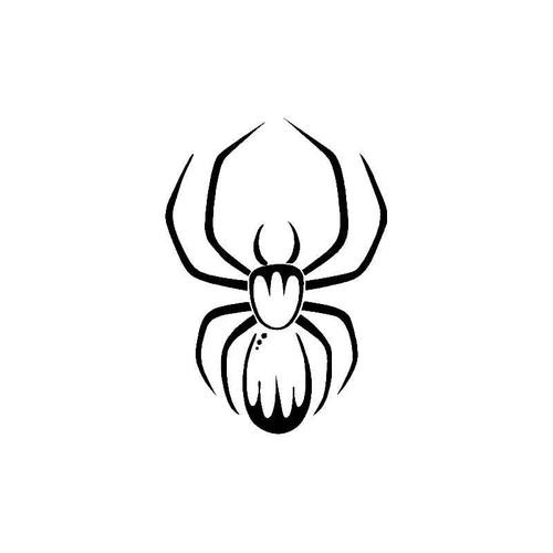 Spider Widow Decal