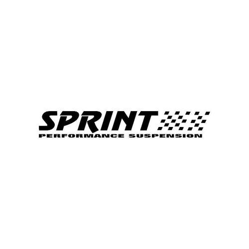 Sprint Peformance Suspension Logo Jdm Decal