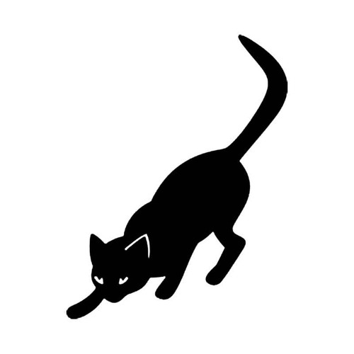 Stalking Cat S Decal