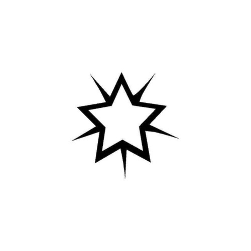 Star 2 Decal