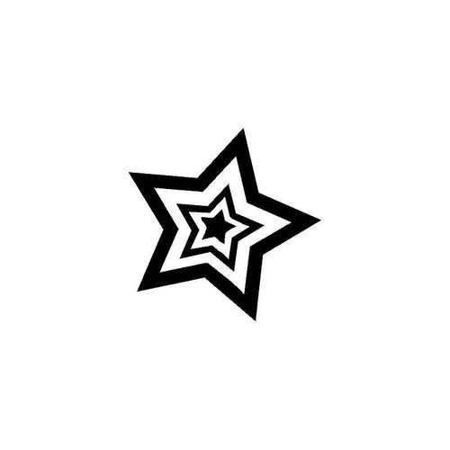 Star 3 Decal