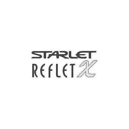 Starlet Reflet X Decal