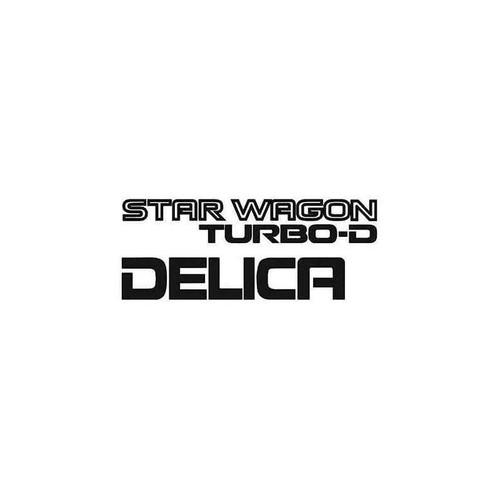 Star Wagon Decal
