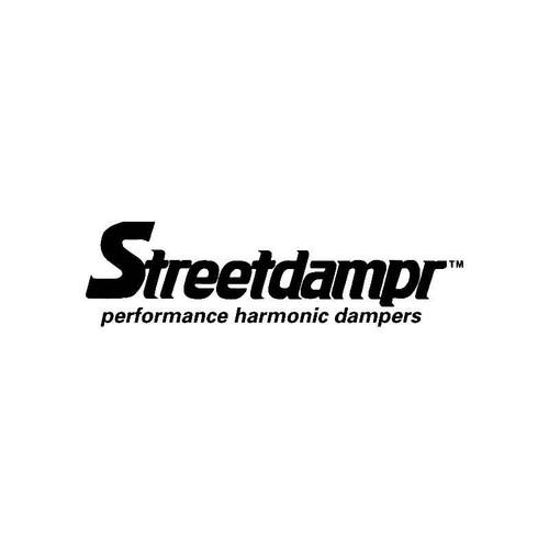 Streetdampr Logo Jdm Decal