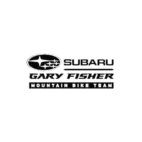Subaru Gary Fisher Mountain Bike Team S Decal