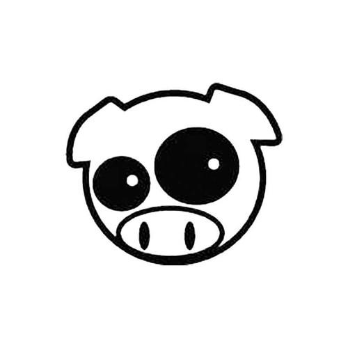 Subaru Pig Manga Mascot S Decal
