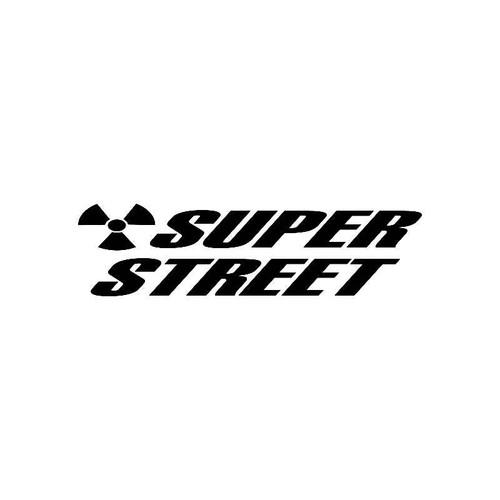 Super Street Logo Jdm Decal