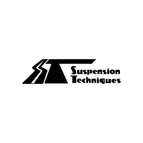 Suspension Techniques Logo Jdm Decal