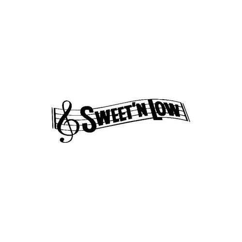 Sweet N Low Decal