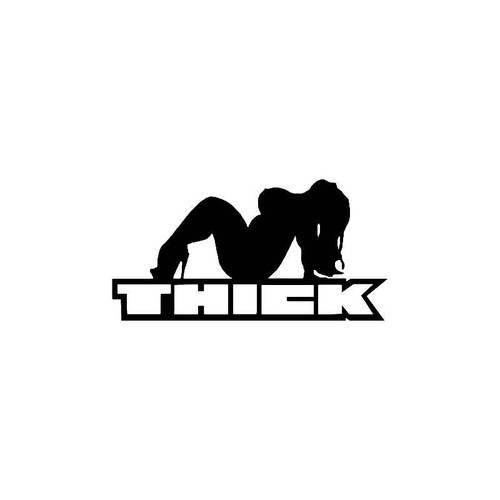 Thick Chick Decal