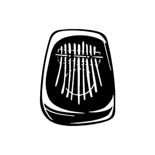 Thumb Piano S Decal