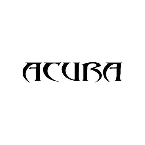 Tribal Acura2 Logo Jdm Decal