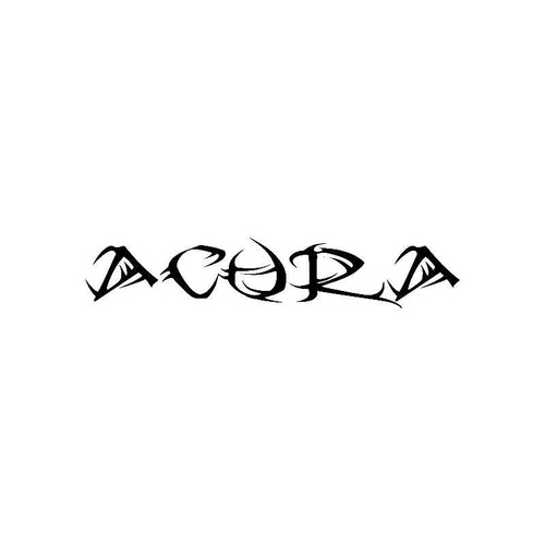 Tribal Acura Logo Jdm Decal