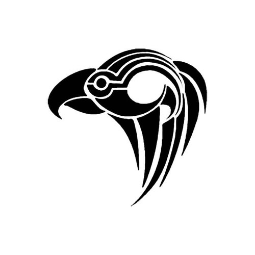 Tribal Bird F S Decal