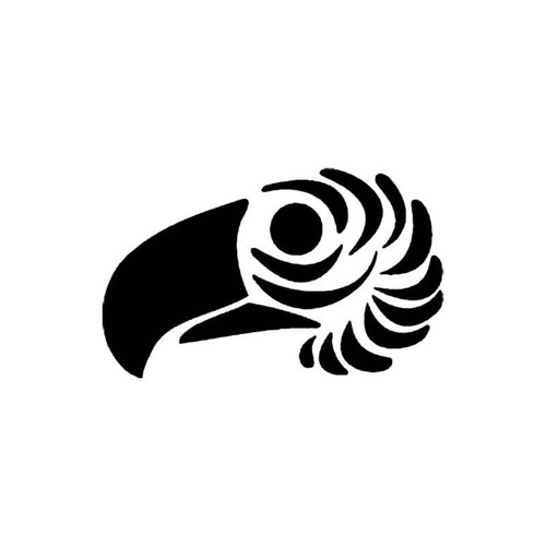 Tribal Bird J S Decal