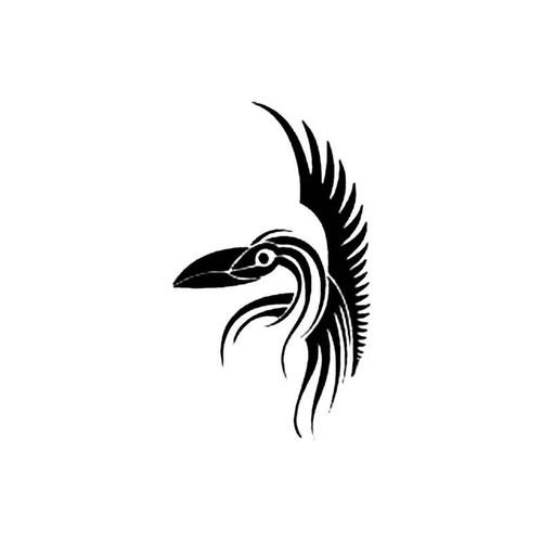 Tribal Bird M S Decal