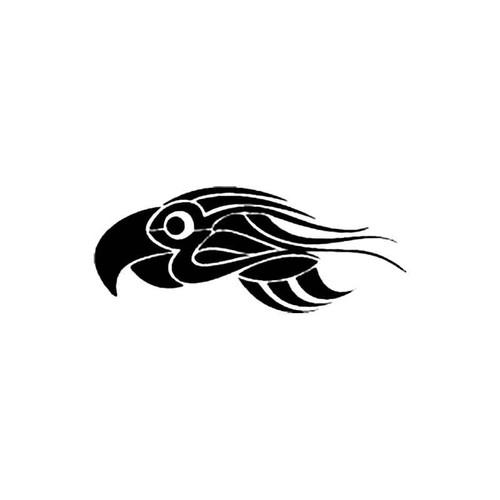 Tribal Bird N S Decal