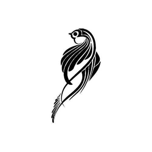 Tribal Bird Q S Decal