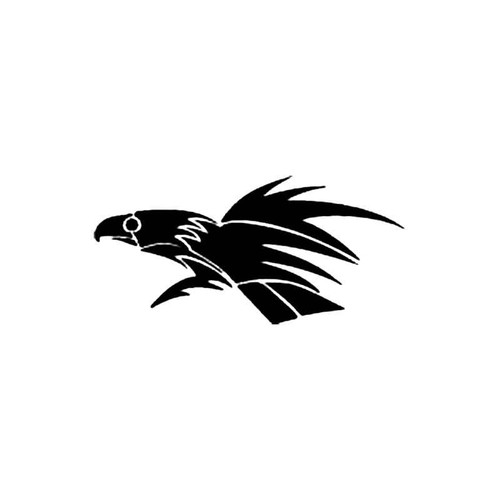 Tribal Bird Z S Decal