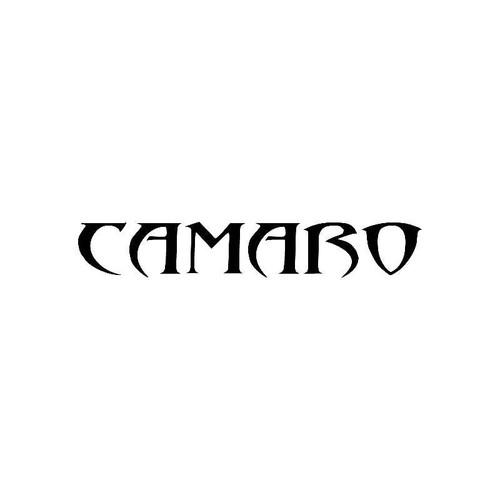 Tribal Camaro2 Logo Jdm Decal
