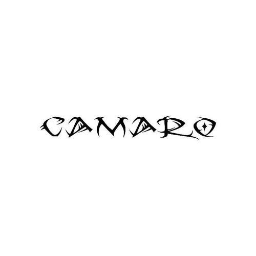Tribal Camaro Logo Jdm Decal