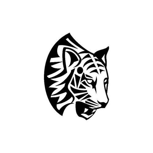 Tribal Cat 3 Decal