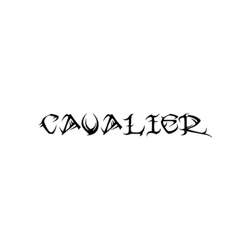 Tribal Cavalier Logo Jdm Decal