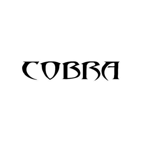 Tribal Cobra2 Logo Jdm Decal