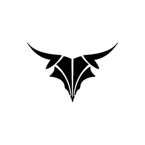 Tribal Cow Skull C S Decal