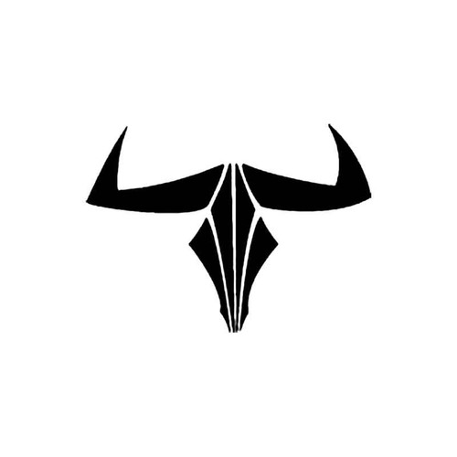 Tribal Cow Skull S Decal