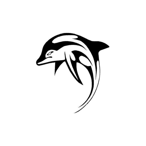 Tribal Dolphin 2 Decal