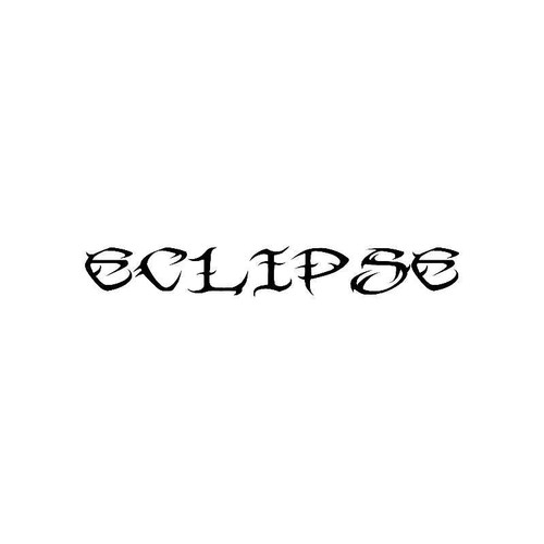 Tribal Eclipse Logo Jdm Decal