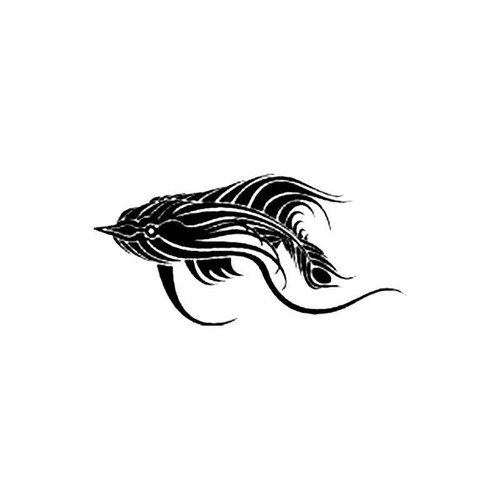 Tribal Fish B S Decal